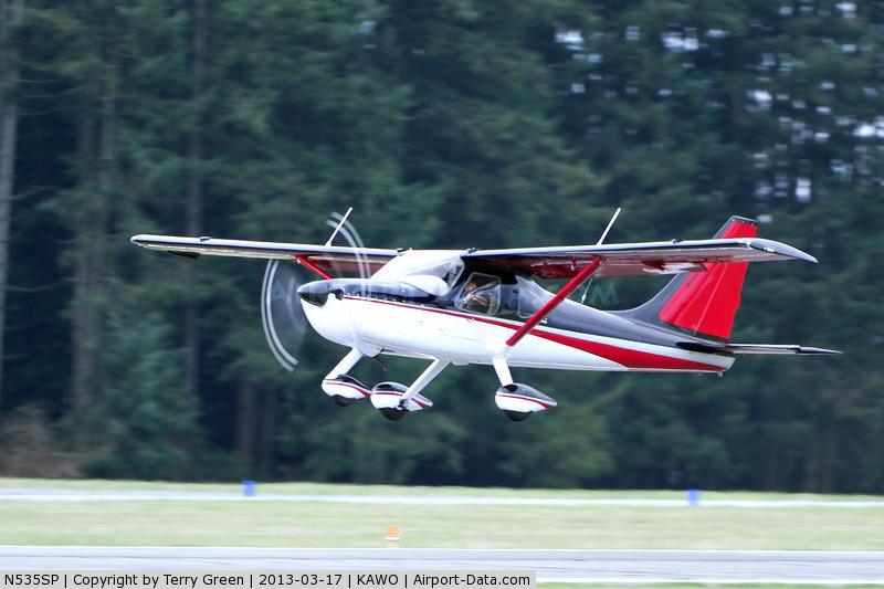 Sportsman-takeoff